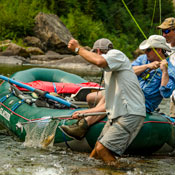 Montana fly fishing, great bear wilderness trips