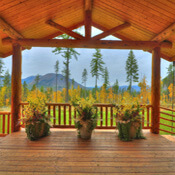 Glacier National Park cabins, west glacier events & weddings