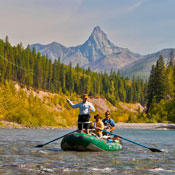 Montana fly fishing, Glacier National Park Fishing