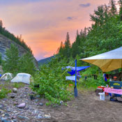Fishing Glacier National Park, Middle Fork Flathead River, Multi-Day Trips