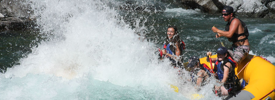 white water rafting in montana, half-day trips