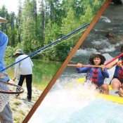 Fishing in Glacier National Park, Montana Rafting and Fly Fishing Trip