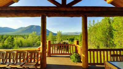 Glacier National Park lodging views near you!