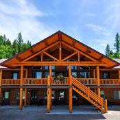 The new West Glacier Lodge. Located just down the road from the west entrance.